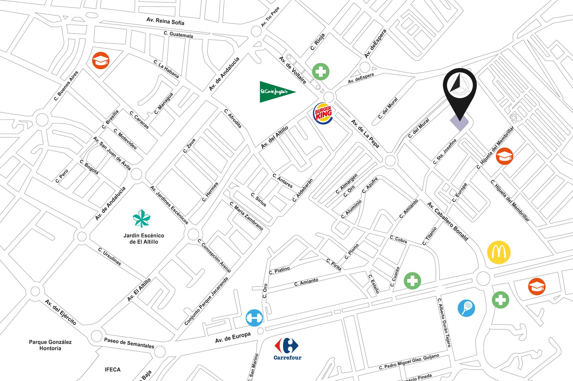 Residencial Plaza Norte | The Urban Living - Ubicación